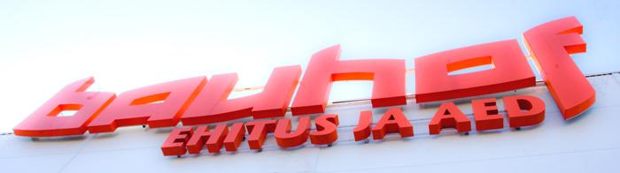 Bauhof jõhvi logo majal