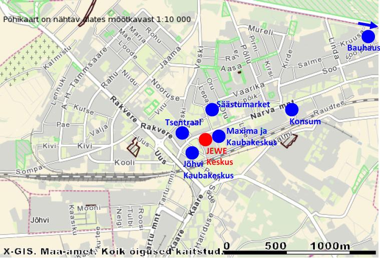 Jewe_keskuse_kaubanduskeskuste_turu_kaart_johvis_pestone